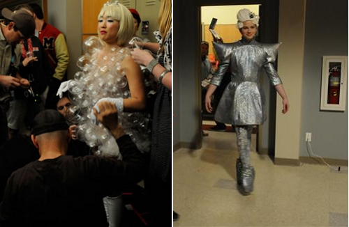 Lady Gaga - Glee Bad Romance Theatricality